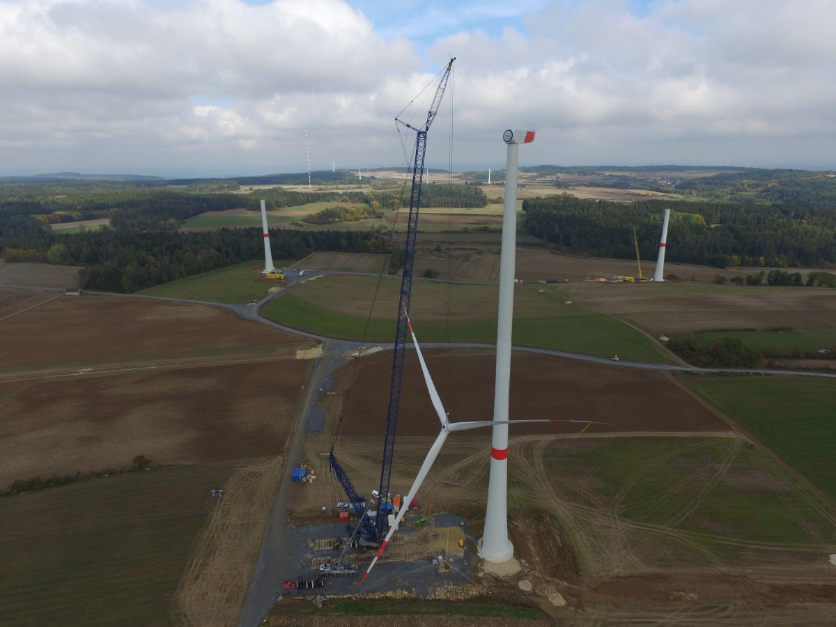 Windpark Alladorf